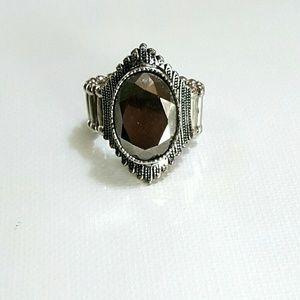 💍Vintage stretch Acrylic Stone ring